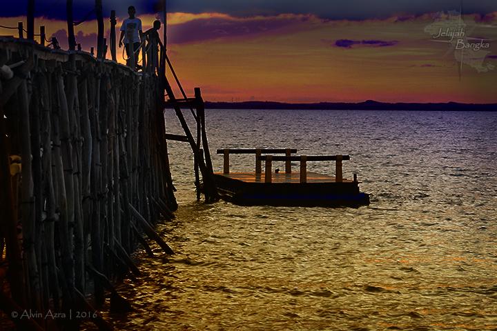 Sunset di Ketawai