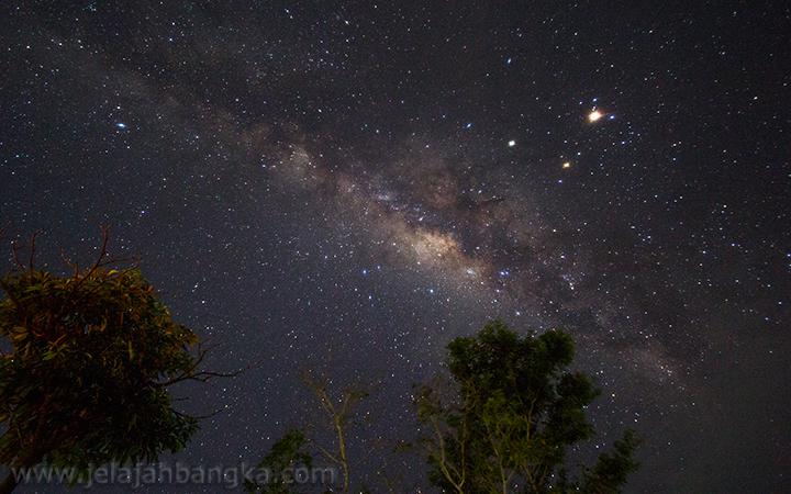 Milky Way Puncak Bukit Pau