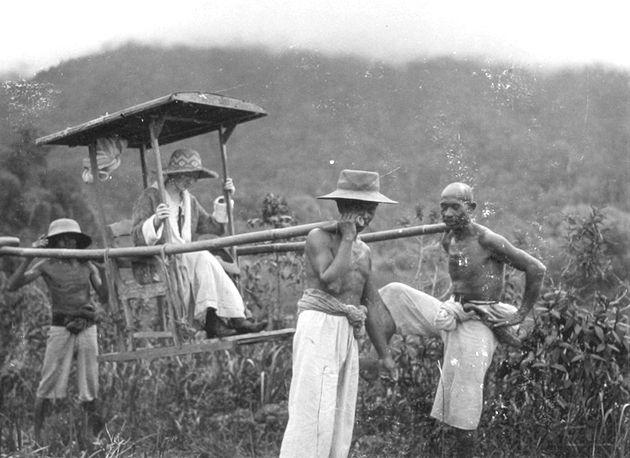 SEJARAH TANDU, Alat Transportasi Paling Tua di Pulau Bangka.
